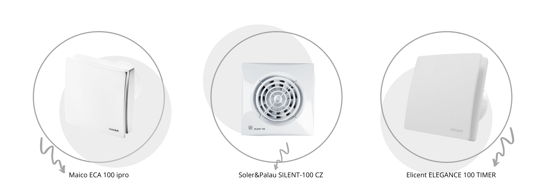 Бесшумные вентиляторы для ванной в большом ассортименте от топовых  европейских производителей