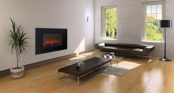 Камины электрические с эффектом живого пламени