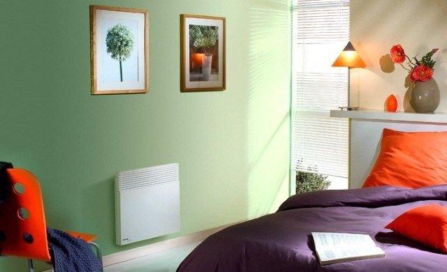 Конвектор настінний електричний для обігріву будинку