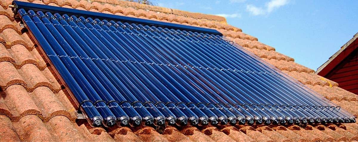 Вакуумные трубчатые солнечные коллекторы