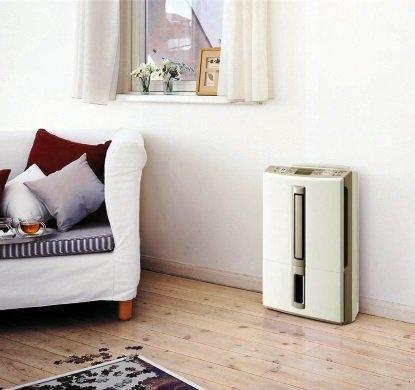 Стильне виконання осушувача повітря для квартири