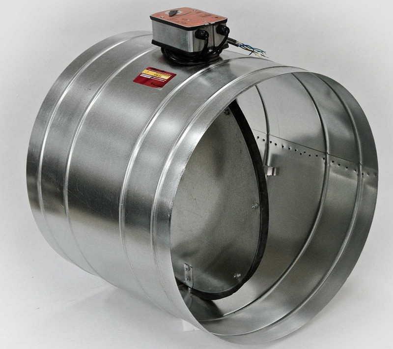 Противопожарный клапан для вентиляционной системы
