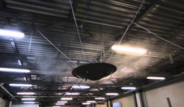 Промисловий зволожувач повітря