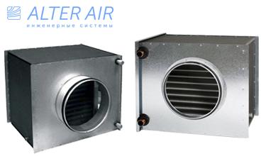 Воздухоохладитель круглого сечения