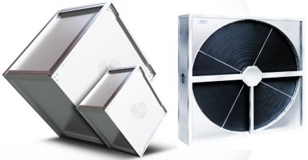 Рекуператор тепла в вентиляционном оборудовании