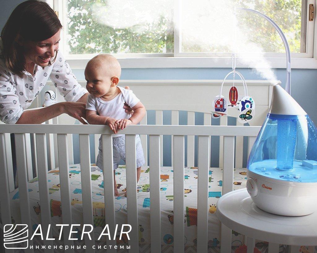 Очищение воздуха в детской комнате