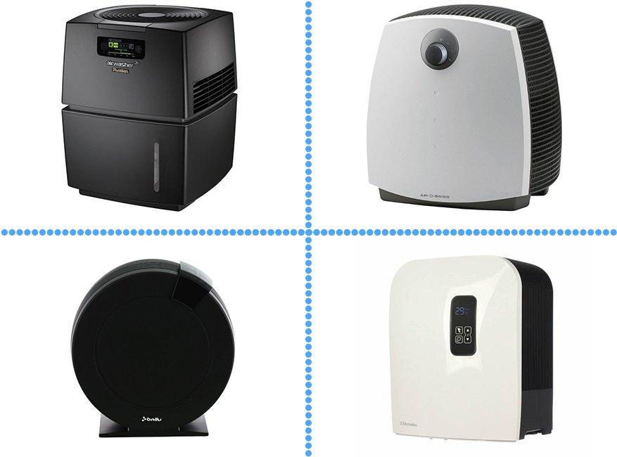 Air-o-Swiss, Ballu, Electrolux, Neoclima - мийки повітря на будь-який смак