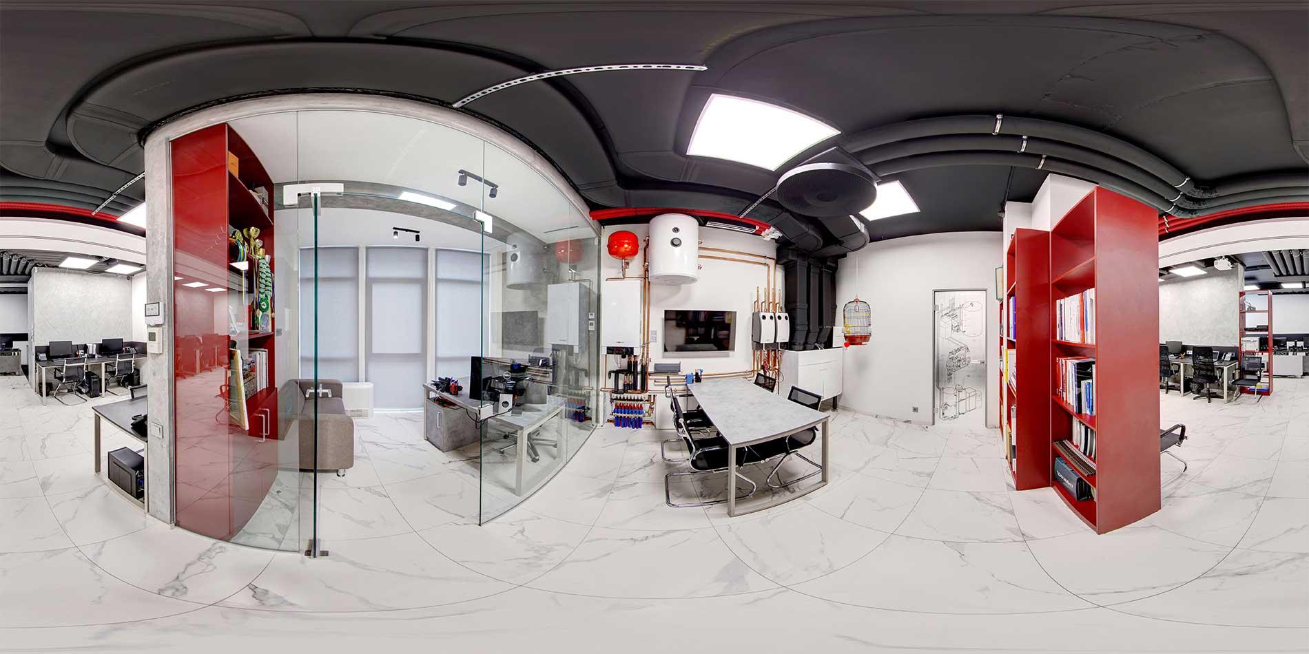 Инженерные системы в офисе Альтер Эйр