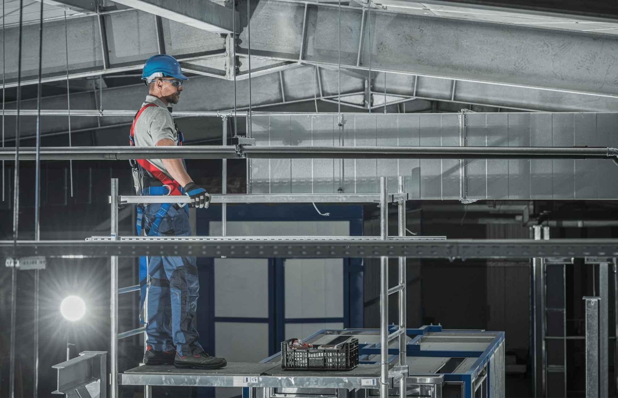 Монтаж промислової вентиляції