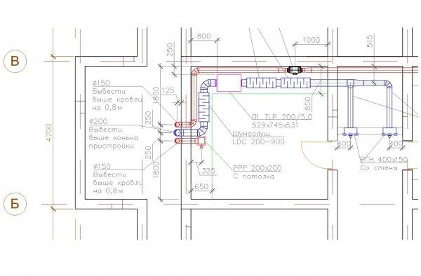 Проєктування припливної вентиляції на базі Systemair TLP