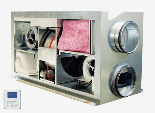 Приточно-вытяжная вентиляция Dantherm