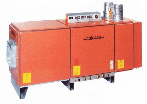 Канальный осушитель с приточно-вытяжной вентиляцией Calorex Delta