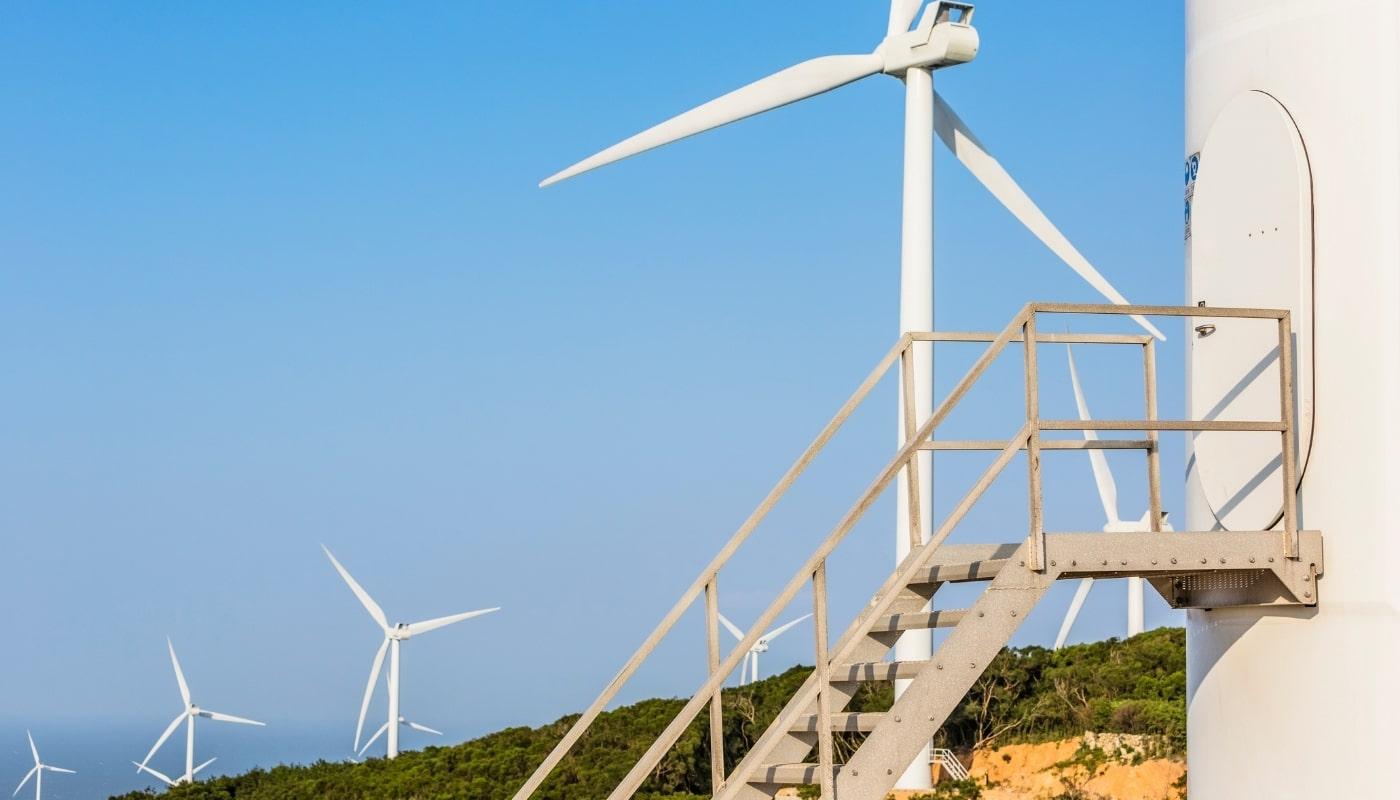 Работа ветрогенераторов