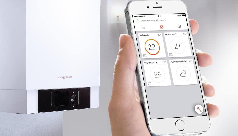 Контроль температуры отопления