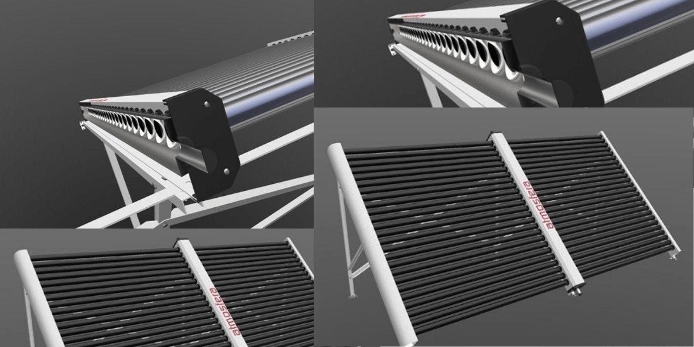 Вакуумні трубки у сонячних колекторів