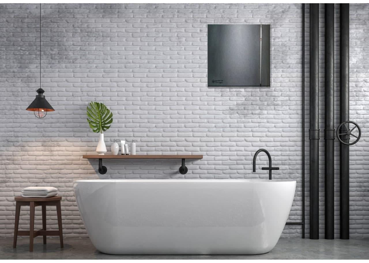 Тихий вентилятор для ванной SOLERPALAU SILENT-100 C