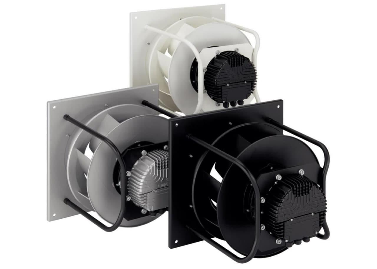 Центробежный вентилятор - пример