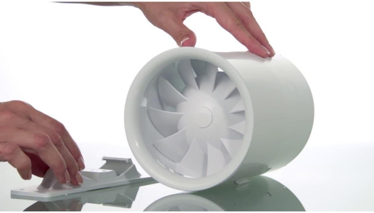 Вентилятор канальний побутовий