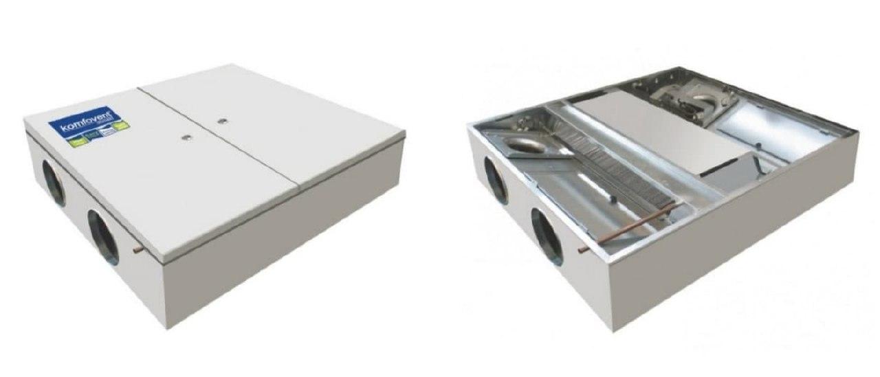 Нові вентиляційні установки DOMEKT і KOMPAKT від компанії KOMFOVENT