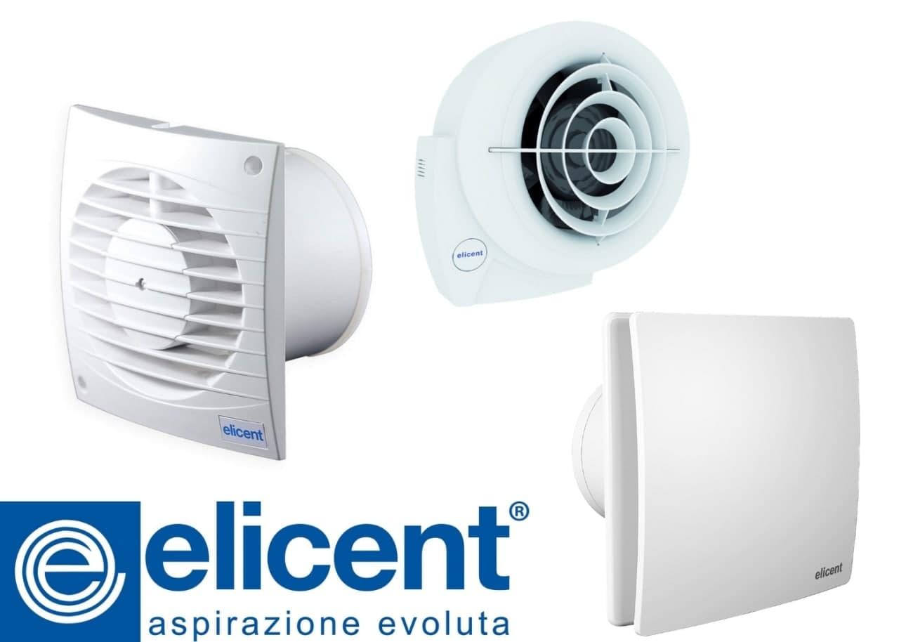 Вытяжные вентилятора различных видов бренда Elicent