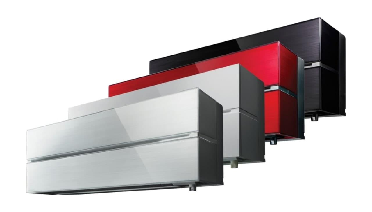 Кондиционеры Mitsubishi Electric разных цветов и моделей