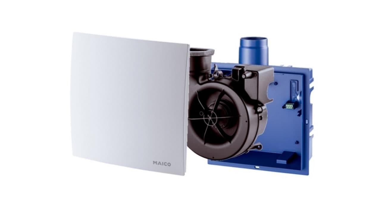 Витяжний вентилятор Maico ER - складові