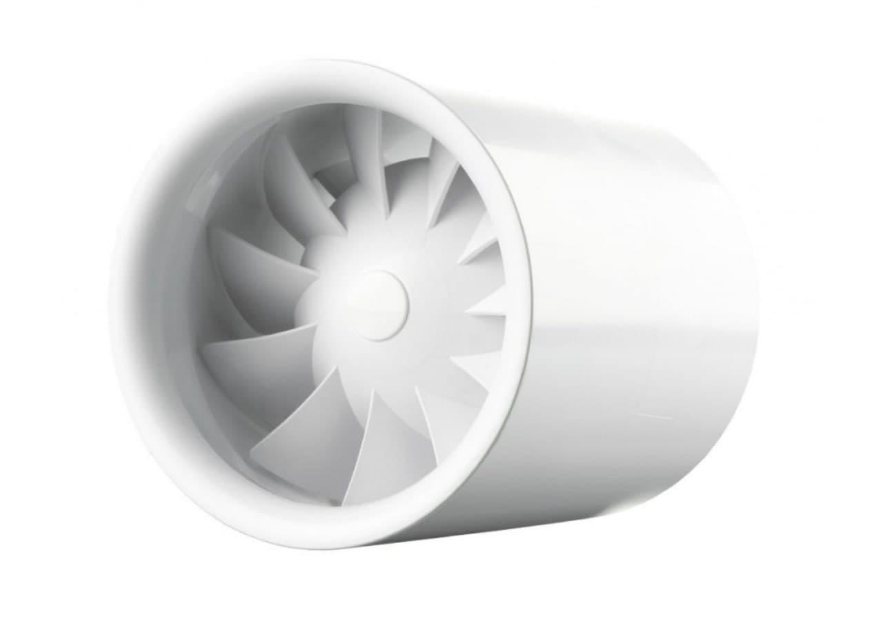 Vents: вентилятор для круглих каналів