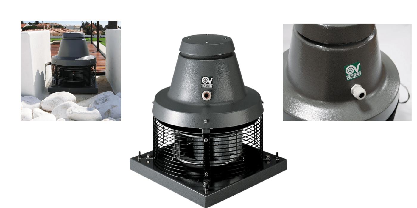 Вентилятор Vortice TIRACAMINO