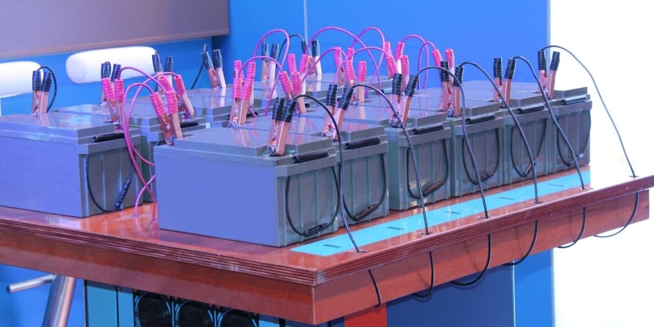 Подключение аккумуляторов