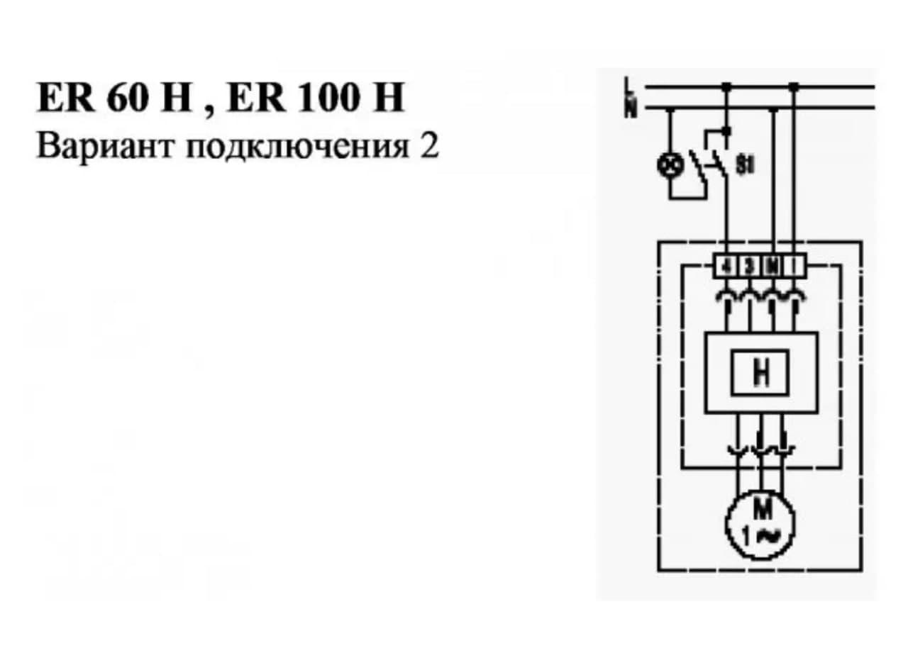 Схема: ручне ввімкнення базового навантаження