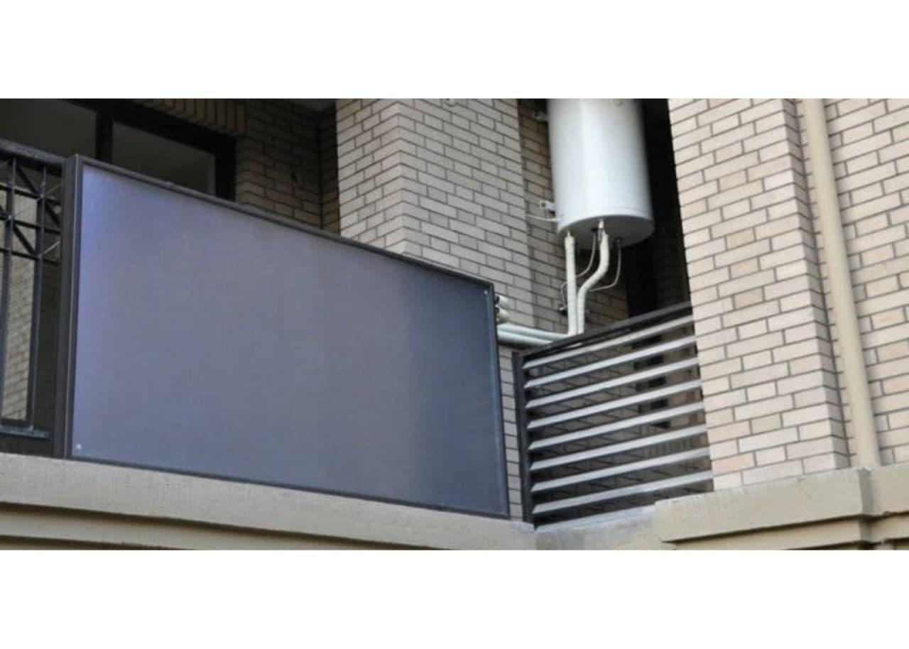 Размещение геоколлектора на балконе