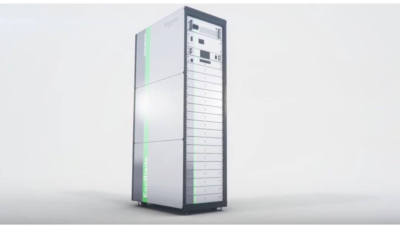 Сеть на основе литий-ионных батарей EcoBlade