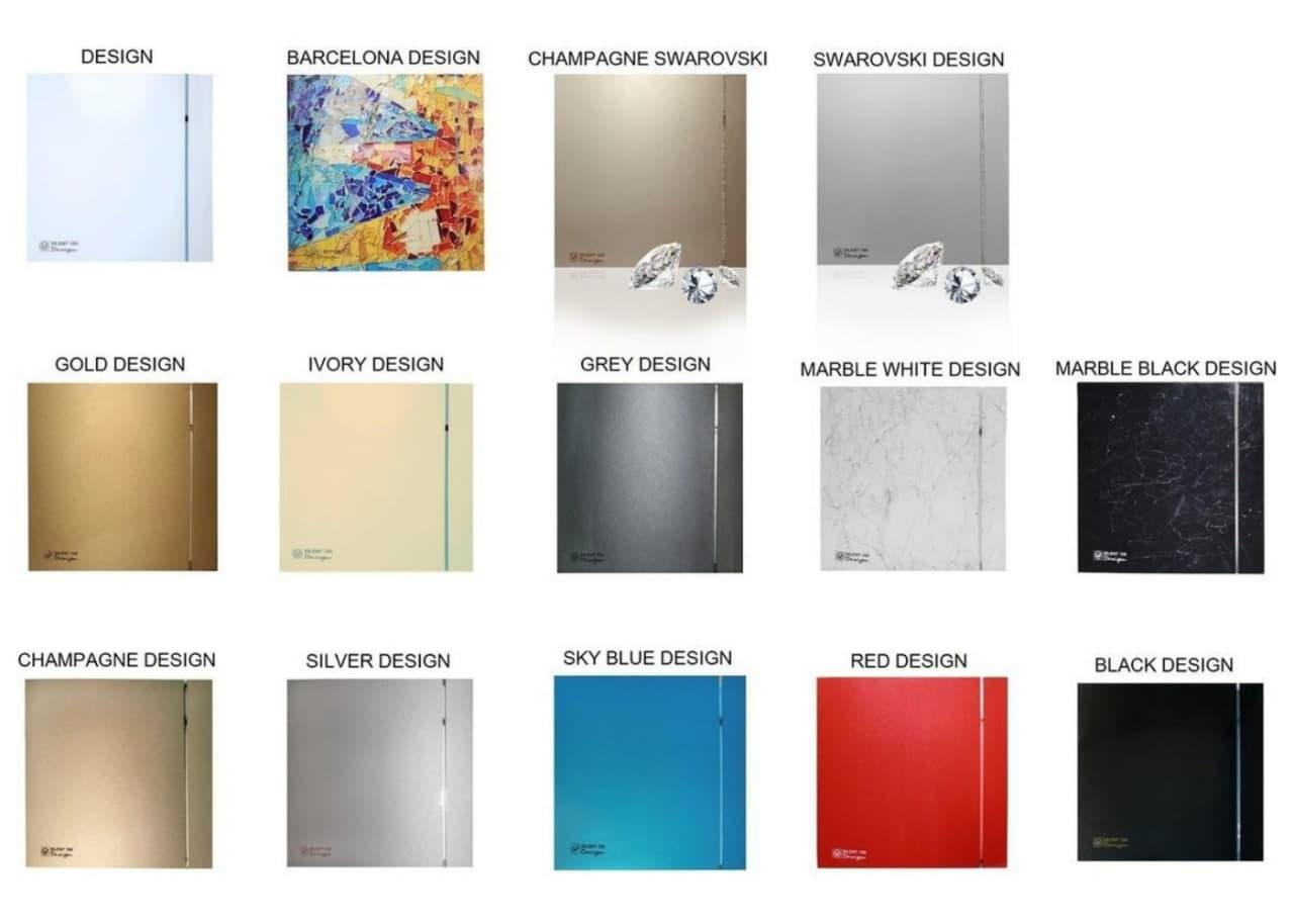 Разнообразие вентиляторов серии Soler&Palau Silent Design