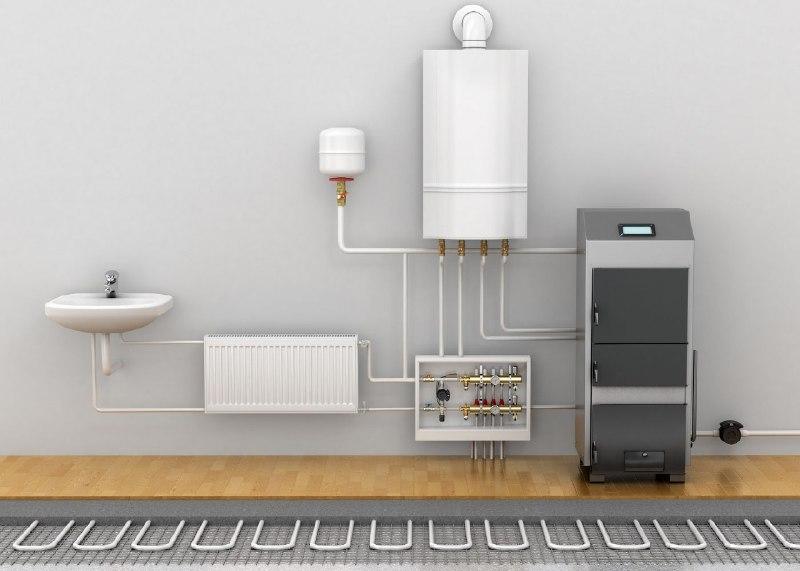 Система тепла підлога в приватному будинку