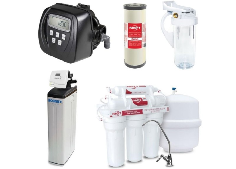 Cистема побутової водоочищення й водопідготовки: її складові