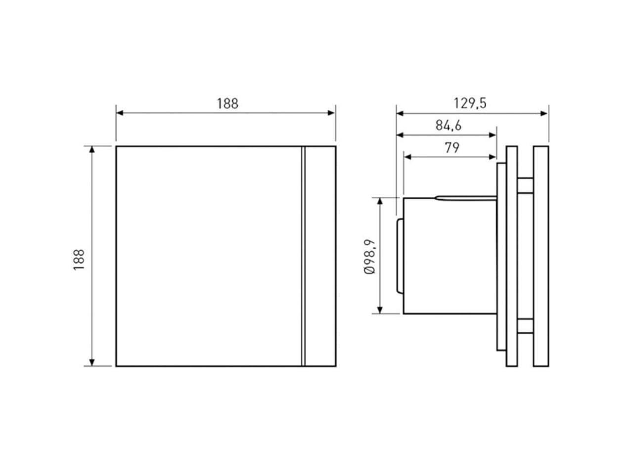 Схема вентилятора Soler&Palau Silent Design