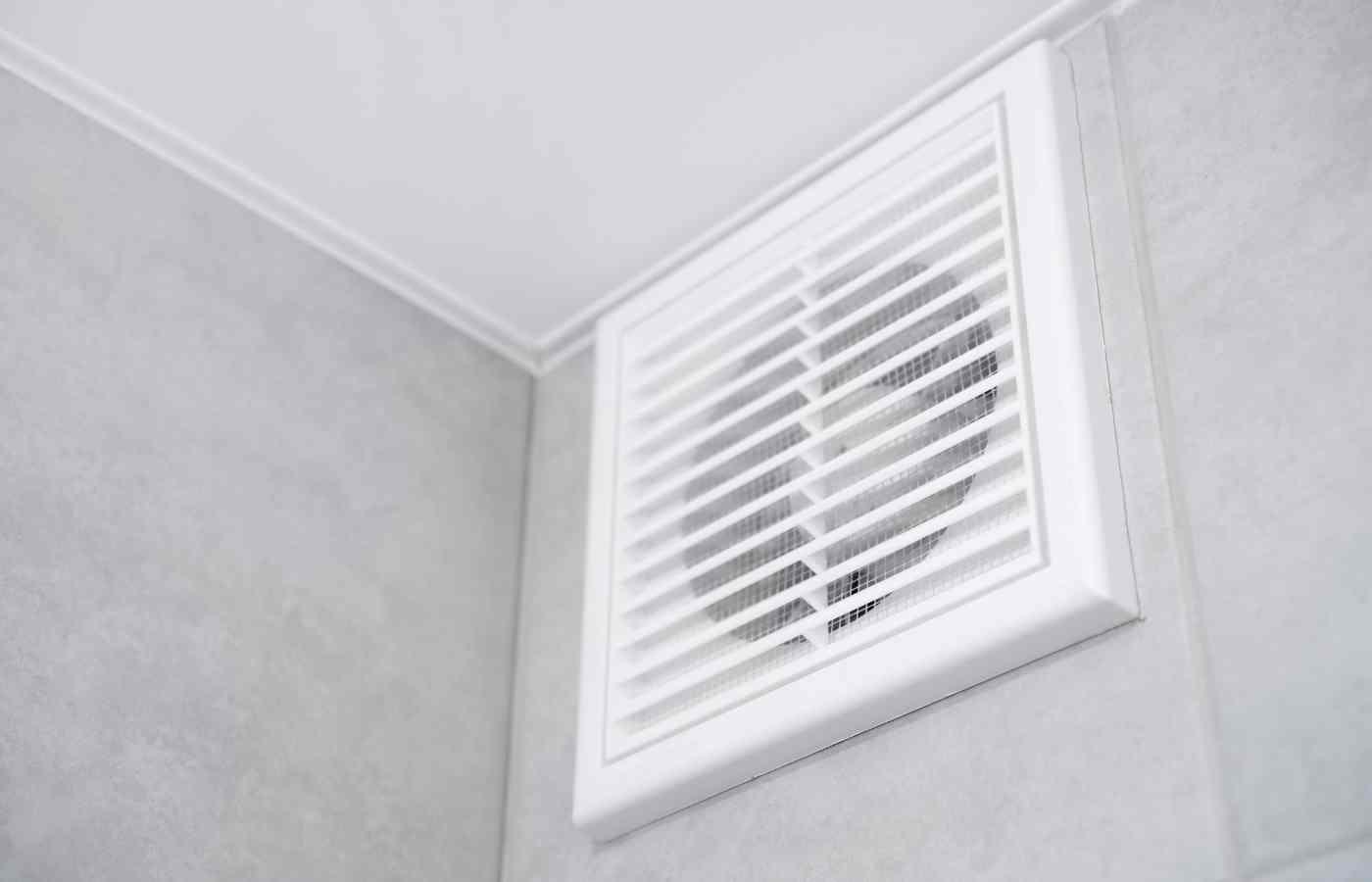 Пример вентиляции в ванной комнате
