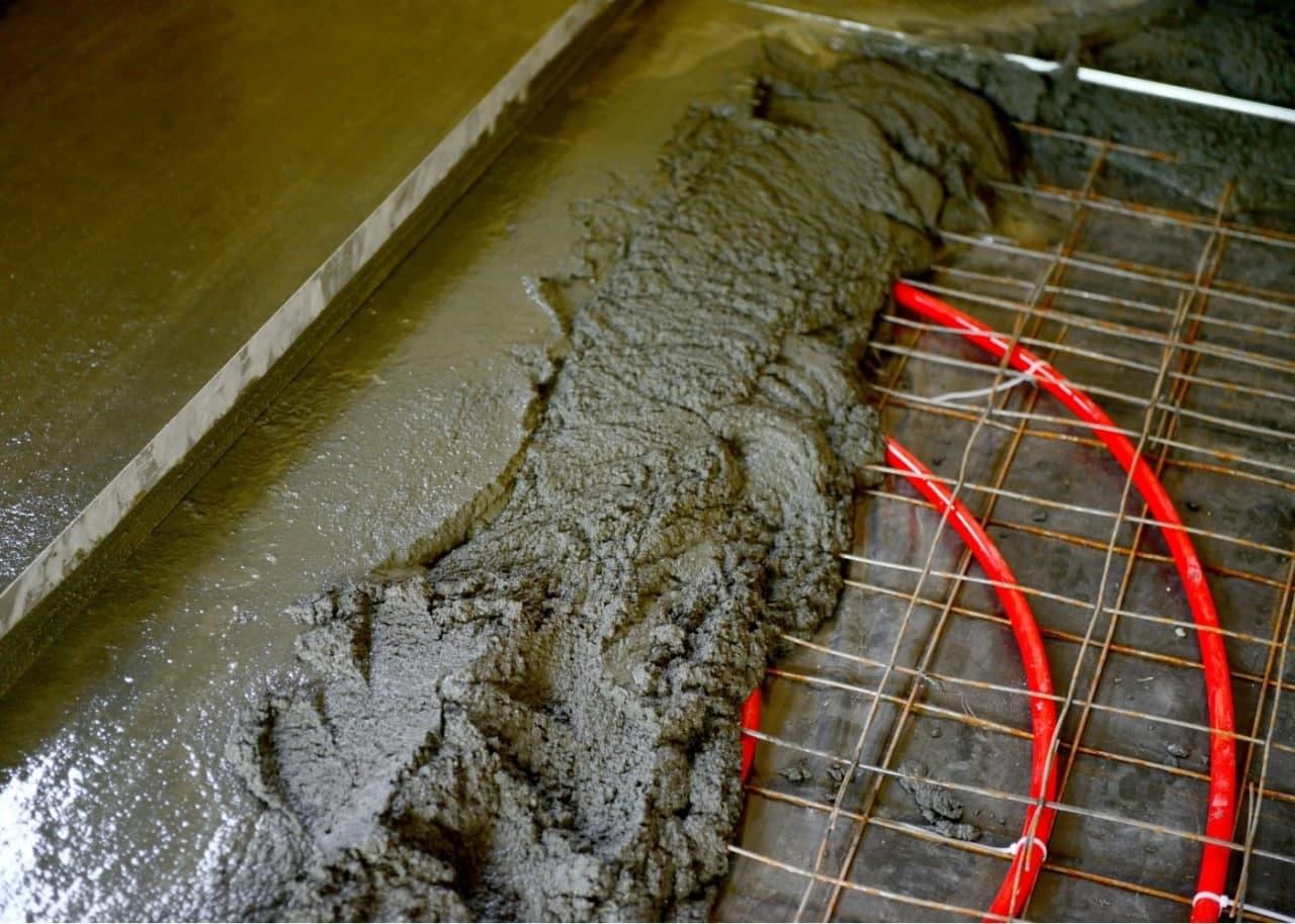 Принцип монтажу теплої підлоги
