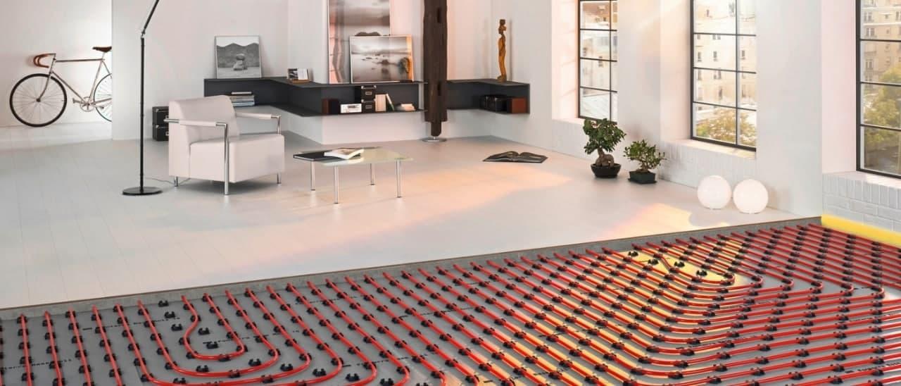 Приклад розміщення теплої підлоги