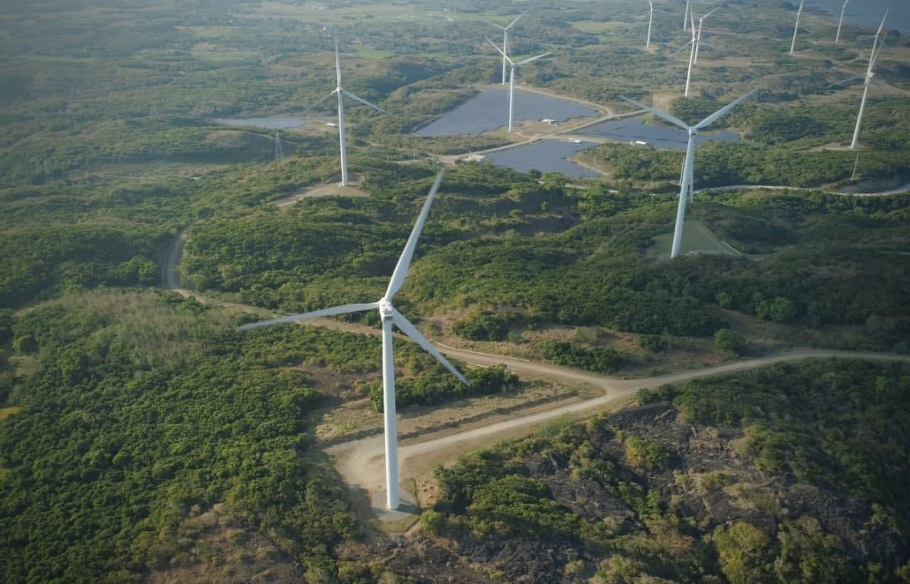Питание из энергии ветра объектами электроэнергетики