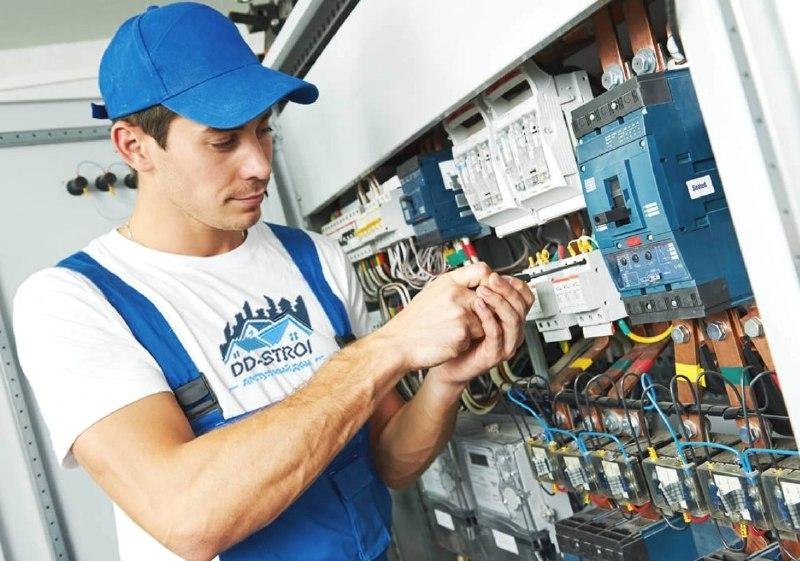 Монтаж системы электроснабжения в частном доме