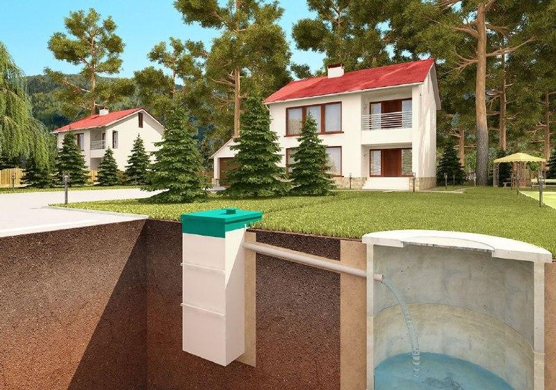 Приклад водопостачання і каналізації приватного будинку