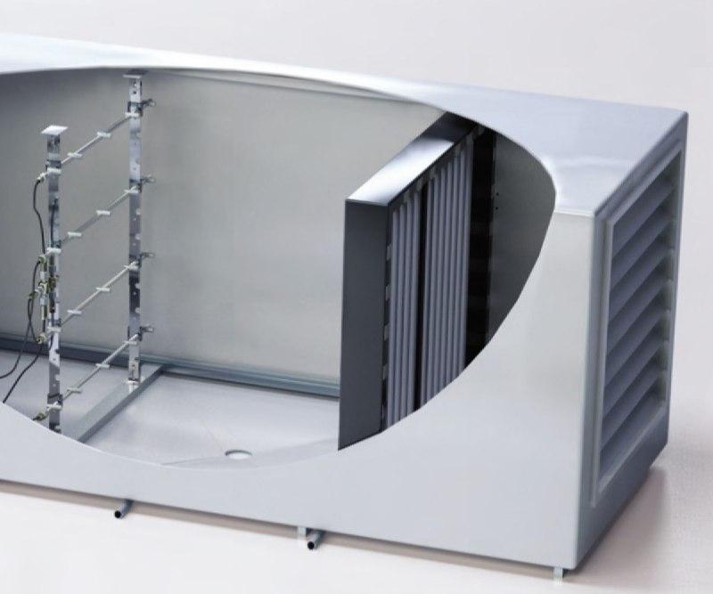 Промислова установка для зволоження повітря в приміщенні