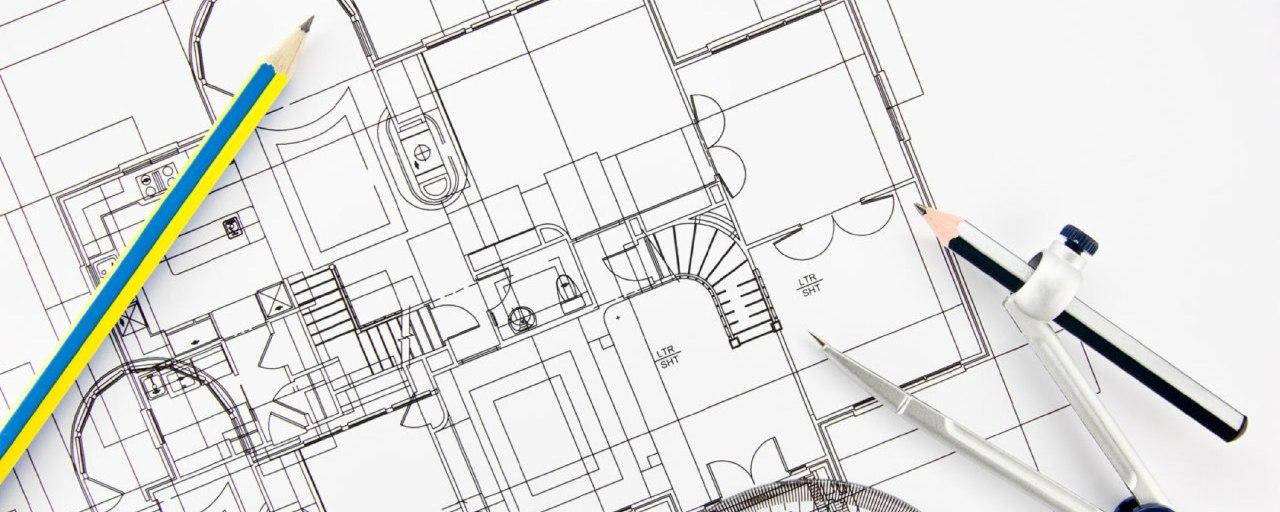 Пример чертежа разработки вентиляции для дома