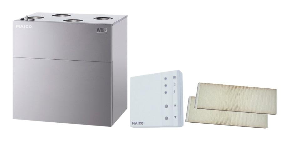 Комплектація вентиляційної установки Maico WS