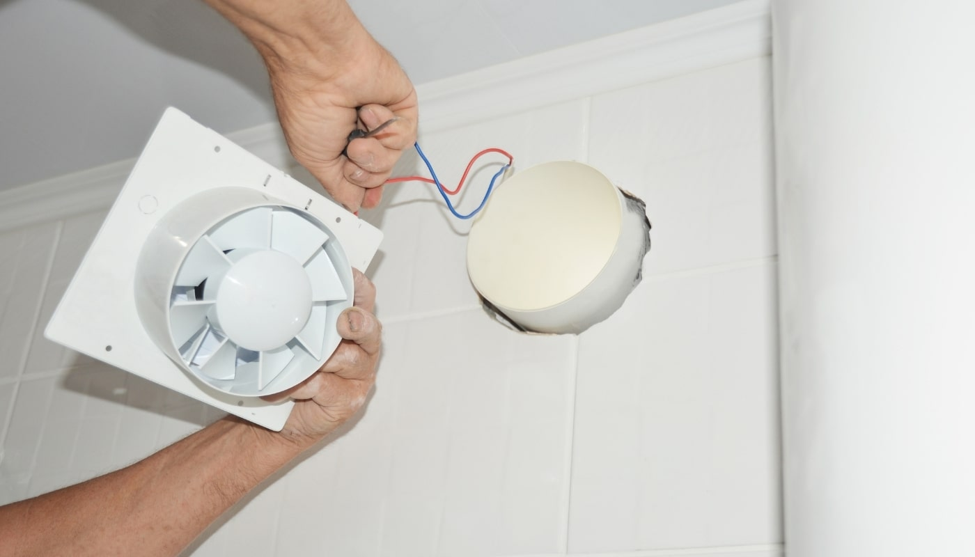 Монтаж витяжного вентилятора