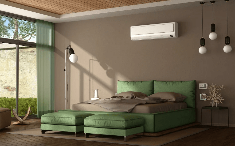 Недорогий вентилятор в інтер'єрі