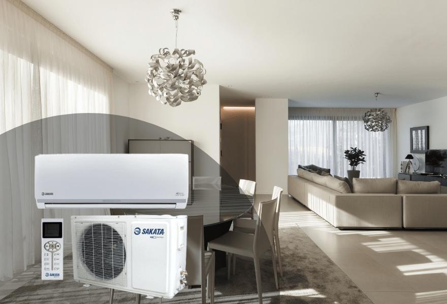 Кондиціонер SAKATA Heat Pumb Inverter в інтер'єрі