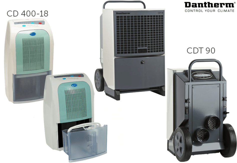 Осушувачі повітря Dantherm CD