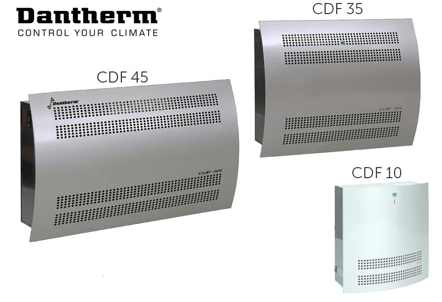 Осушувачі повітря Dantherm CDF